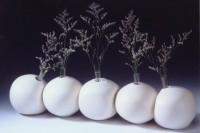 Shaped Bud Vases by Melody Lane