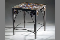 Rose Window Table by Melody Lane