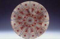 Rose Window Mandala Platter by Melody Lane