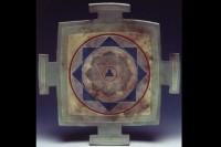 Square Mandala Platter by Melody Lane