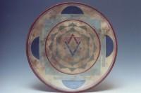 Triangle Mandala Platter by Melody Lane