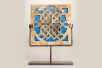 Celtic Knot Square Window Sculpture